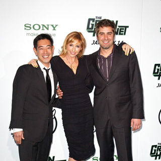 "Grant Imahara, Kari Byron, Tory Belleci in Premiere of Columbia Pictures ""The Green Hornet"" - Arrivals"
