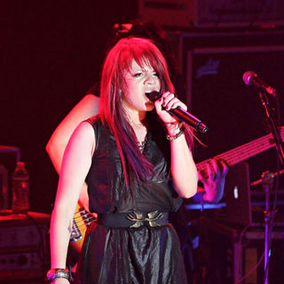Allison Iraheta in In Concert at The Nokia Theater as Part of Glam Nation Tour
