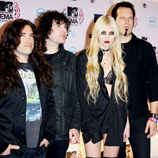 The Pretty Reckless in MTV Europe Music Awards 2010 - Press Room