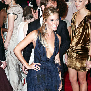 Sienna Miller in The Costume Institute Gala Benefit
