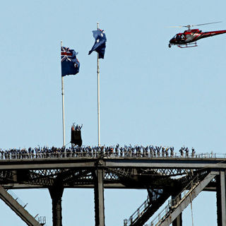 Oprah Winfrey Celebrated Climbing The Sydney Harbour Bridge with 249 Other People