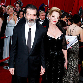Antonio Banderas, Melanie Griffith in The 82nd Annual Academy Awards (Oscars) - Arrivals