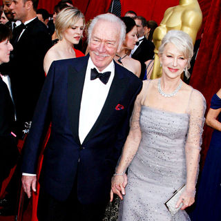 Helen Mirren, Christopher Plummer in The 82nd Annual Academy Awards (Oscars) - Arrivals