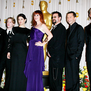 Matthew Broderick, Macaulay Culkin, Ali Sheedy, Molly Ringwald, Judd Nelson, John Cryer, Michael Anthony Hall in The 82nd Annual Academy Awards (Oscars) - Press Room