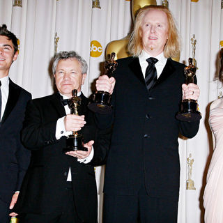 Zac Efron, Ray Beckett, Paul N.J. Ottosson, Anna Kendrick in The 82nd Annual Academy Awards (Oscars) - Press Room