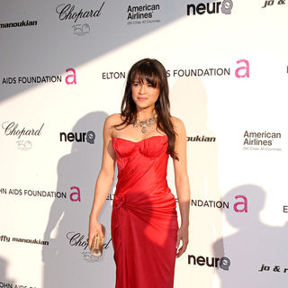 Michelle Rodriguez in 18th Annual Elton John AIDS Foundation Academy Awards (Oscars) Viewing Party - Arrivals