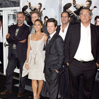 Will Ferrell, Eva Mendes, Mark Wahlberg, Adam McKay in The NY Movie Premiere of 'The Other Guys'