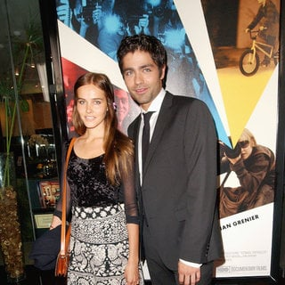 Isabel Lucas, Adrian Grenier in Los Angeles Premiere of HBO's 'Teenage Paparazzo' - Arrivals