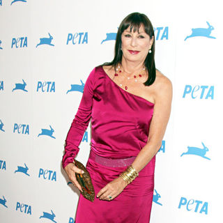 Anjelica Huston in The PETA's 30th Anniversary Gala And Humanitarian Awards
