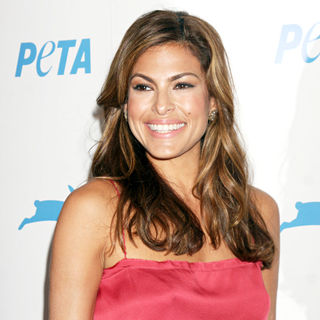 Eva Mendes in The PETA's 30th Anniversary Gala And Humanitarian Awards