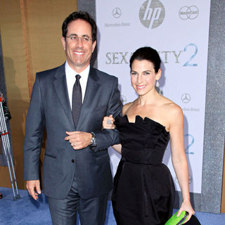 Jerry Seinfeld, Jessica Seinfeld in World Premiere of 'Sex and the City 2' - Arrivals