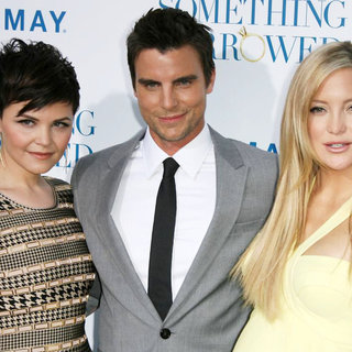 "Ginnifer Goodwin, Colin Egglesfield, Kate Hudson in Los Angeles Premiere of ""Something Borrowed"""