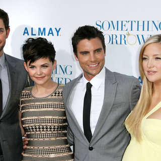 "John Krasinski, Ginnifer Goodwin, Colin Egglesfield, Kate Hudson in Los Angeles Premiere of ""Something Borrowed"""