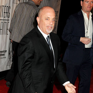 Billy Joel in 2010 Songwriters Hall of Fame Awards - Arrivals