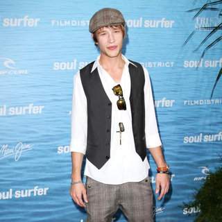 Nick Roux in The Los Angeles Premiere of 'Soul Surfer'