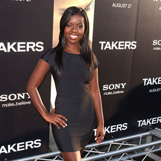 Camille Winbush in Los Angeles Premiere of 'Takers' - Arrivals