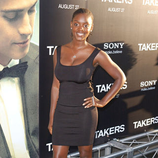 Ayanna Berkshire in Los Angeles Premiere of 'Takers' - Arrivals