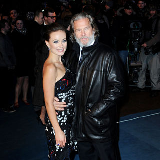Olivia Wilde, Jeff Bridges in The UK Premiere of 'Tron Legacy'
