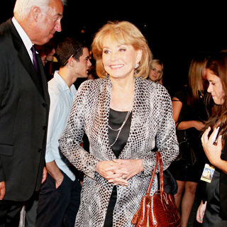 Barbara Walters in The New York Movie Premiere of 'Wall Street 2: Money Never Sleeps' - Arrivals