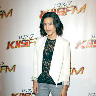 Julia Jones in KIIS FM's Wango Tango 2010 - Arrivals