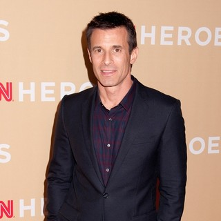A.J. Hammer in 2013 CNN Heroes: An All Star Tribute - Red Carpet Arrivals