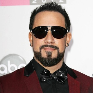 A.J. McLean, Backstreet Boys in The 40th Anniversary American Music Awards - Arrivals