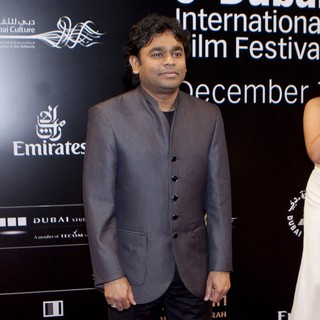 A.R. Rahman in 2011 Dubai International Film Festival - Mission: Impossible Ghost Protocol - Red Carpet