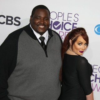 Quinton Aaron, Jenna Bentley in People's Choice Awards 2013 - Red Carpet Arrivals