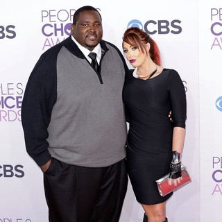 Quinton Aaron in People's Choice Awards 2013 - Red Carpet Arrivals - aaron-bentley-people-s-choice-awards-2013-02