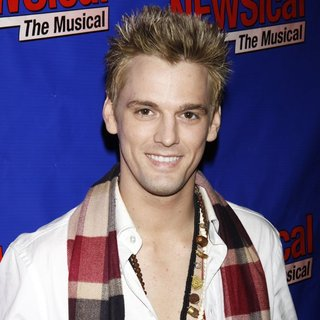Aaron Carter in Perez Hilton's VIP Opening Night of Newsical The Musical - Arrivals