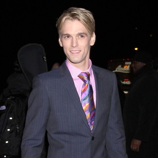 Aaron Carter in Screening of The Film Haywire