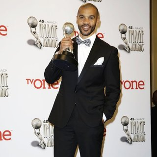Aaron D. Spears in 45th NAACP Image Awards - Press Room
