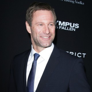 Aaron Eckhart in Los Angeles Premiere of Olympus Has Fallen