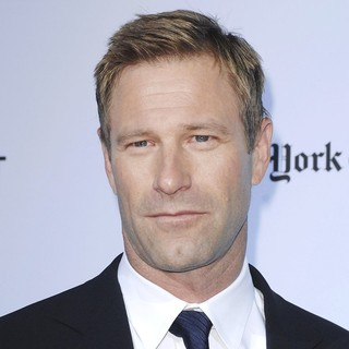 Aaron Eckhart in The Rum Diary Premiere - Arrivals