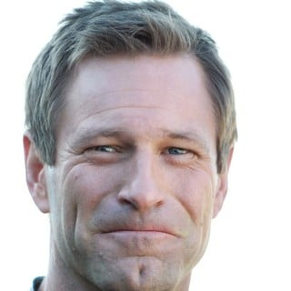 Aaron Eckhart in Russian Photocall for Olympus Has Fallen