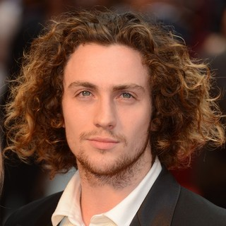 Aaron Johnson in The Premiere of Anna Karenina