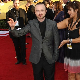 Aaron Paul in The 18th Annual Screen Actors Guild Awards - Arrivals