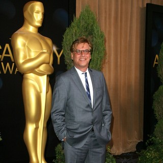 Aaron Sorkin in 84th Annual Academy Awards Nominees Luncheon
