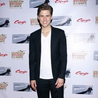 Aaron Tveit in The 29th Annual Fred and Adele Astaire Awards for The Performing Arts - Arrivals