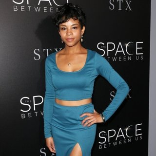 Aasha Davis-Premiere of STX Entertainment's The Space Between Us