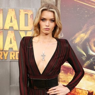 Abbey Lee Kershaw in Mad Max: Fury Road Premiere