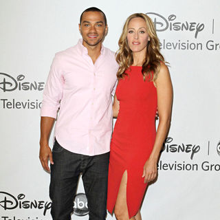 Jesse Williams, Kim Raver in Disney ABC Family 2010 Summer TCA Tour