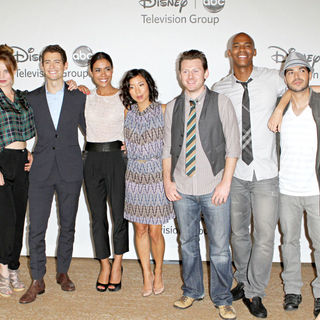 Michael Stahl-David, Kelli Garner, Julian Morris, Daniella Alonso, Anne Son, Keir O'Donnell, Mehcad Brooks, Sebastian Sozzi, Jaime King in Disney ABC Family 2010 Summer TCA Tour