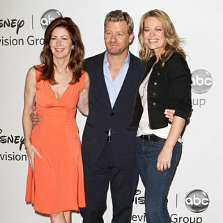 Dana Delany, Nicholas Bishop, Jeri Ryan in Disney ABC Family 2010 Summer TCA Tour
