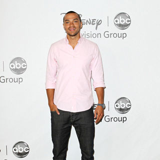 Jesse Williams in Disney ABC Family 2010 Summer TCA Tour