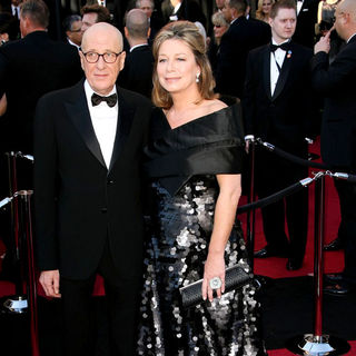 Geoffrey Rush, Jane Menelaus in 83rd Annual Academy Awards (Oscars) - Arrivals
