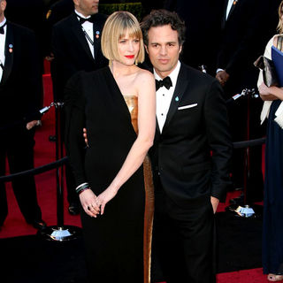 Sunrise Coigney, Mark Ruffalo in 83rd Annual Academy Awards (Oscars) - Arrivals