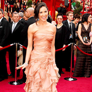 Demi Moore in The 82nd Annual Academy Awards (Oscars) - Arrivals