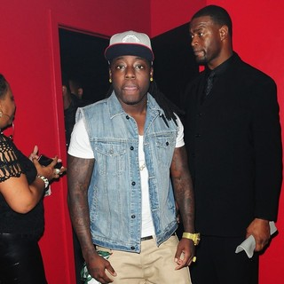 Ace Hood in Ace Hood Celebrated Bow Wow's 25th Birthday