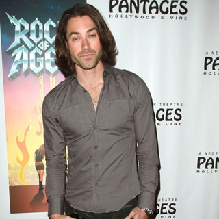 Ace Young in Broadway Sensation Rock of Ages Celebrates Its Los Angeles Homecoming